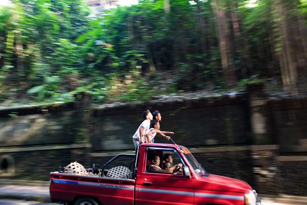 Bali Documentary Photograph, Balinese kids in Ubud