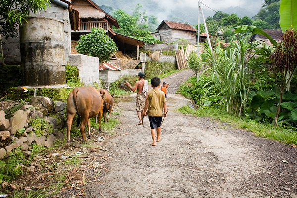 Bali Documentary Photograph, villagers in Amed