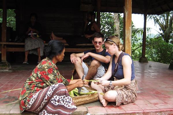 Balinese Prayer Offering - snapshot