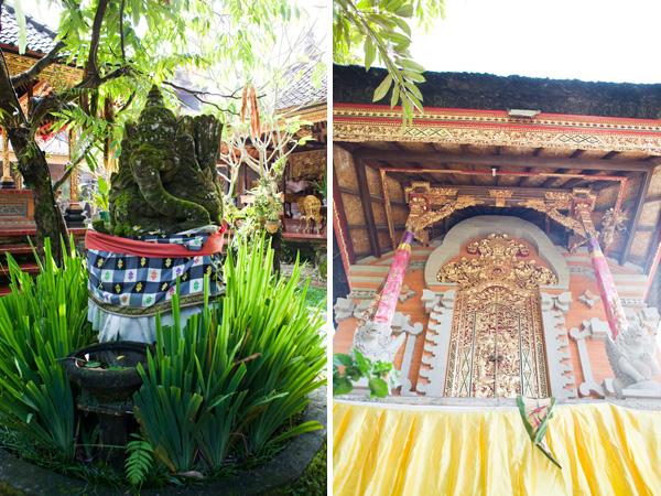 Bali Travel Photographs - Palace of Pelitian