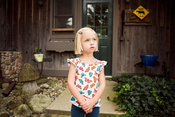 documentary children's portrait photography