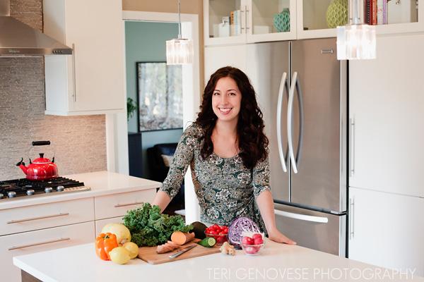 Laura Burkett of Real Food Wellness | Holistic Health Counselor | headshot and branding photography
