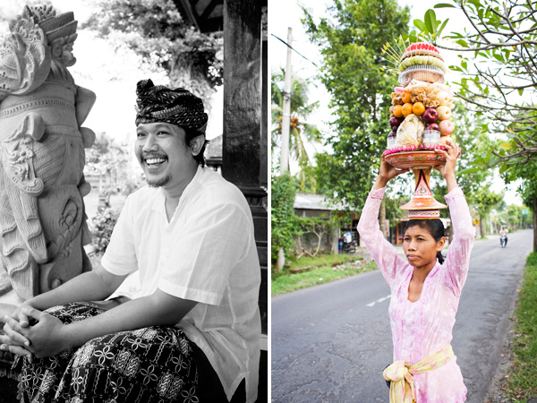 Portraits taken in Bali, Indonesia