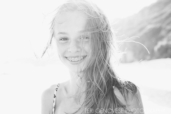 malibu beach portrait