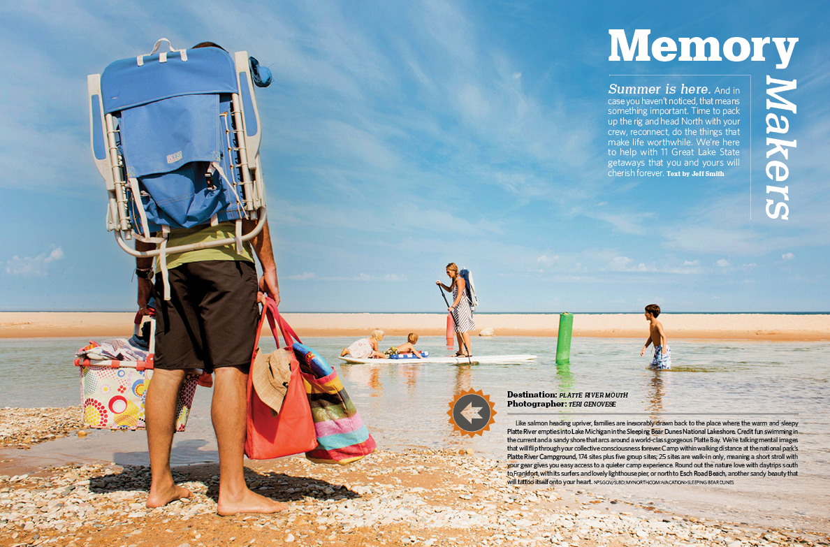 Traverse Magazine Featured Photograph  |  July 2014