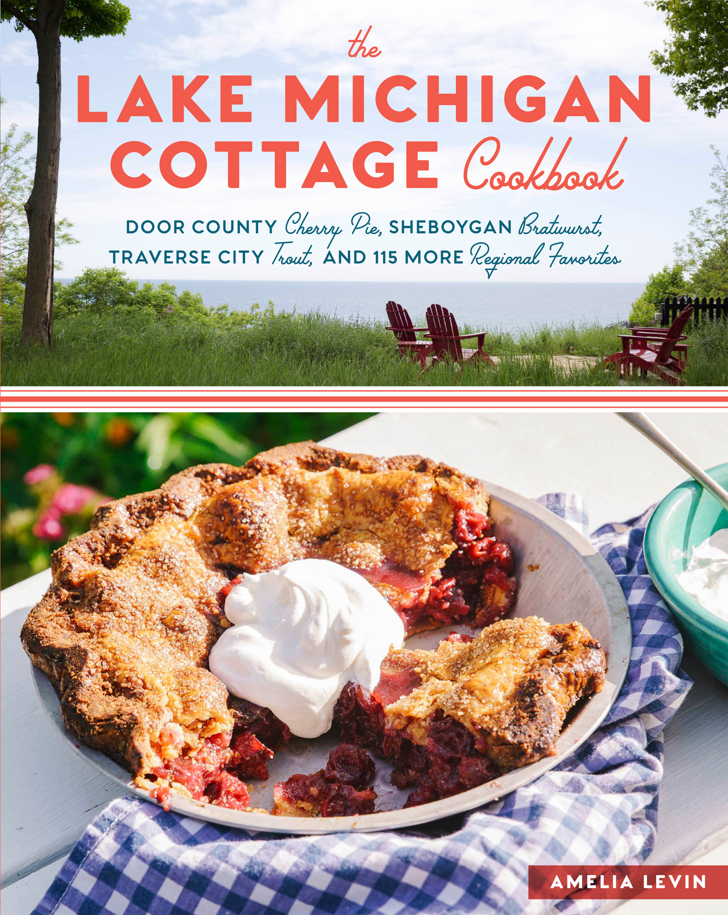 Excerpted from The Lake Michigan Cottage Cookbook Copyright Teri Genovese (top) and Johnny Autry (bottom). Used with permission from Storey Publishing. See cookbook tear sheets  here .