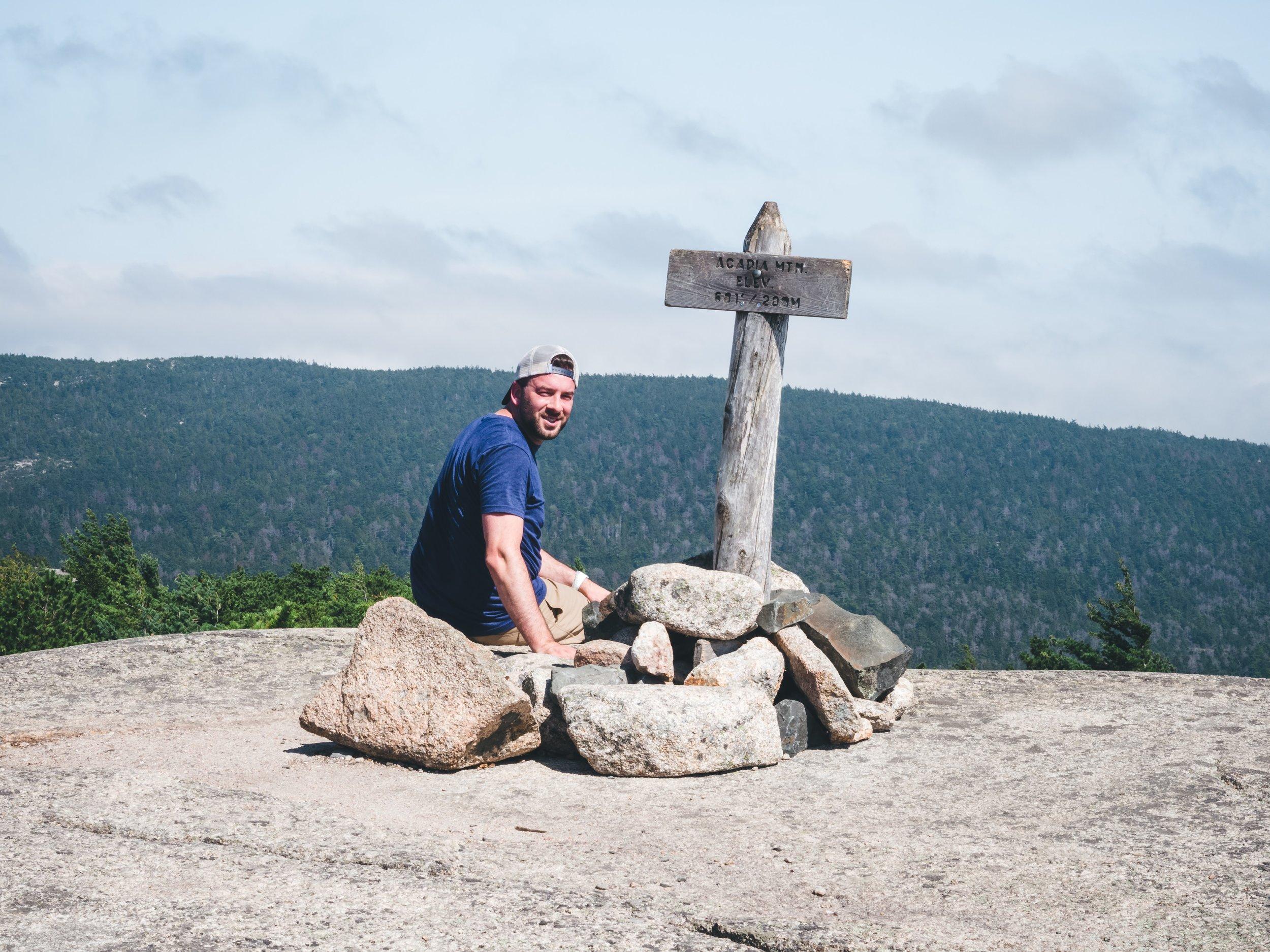 Acadia Mountain Summit