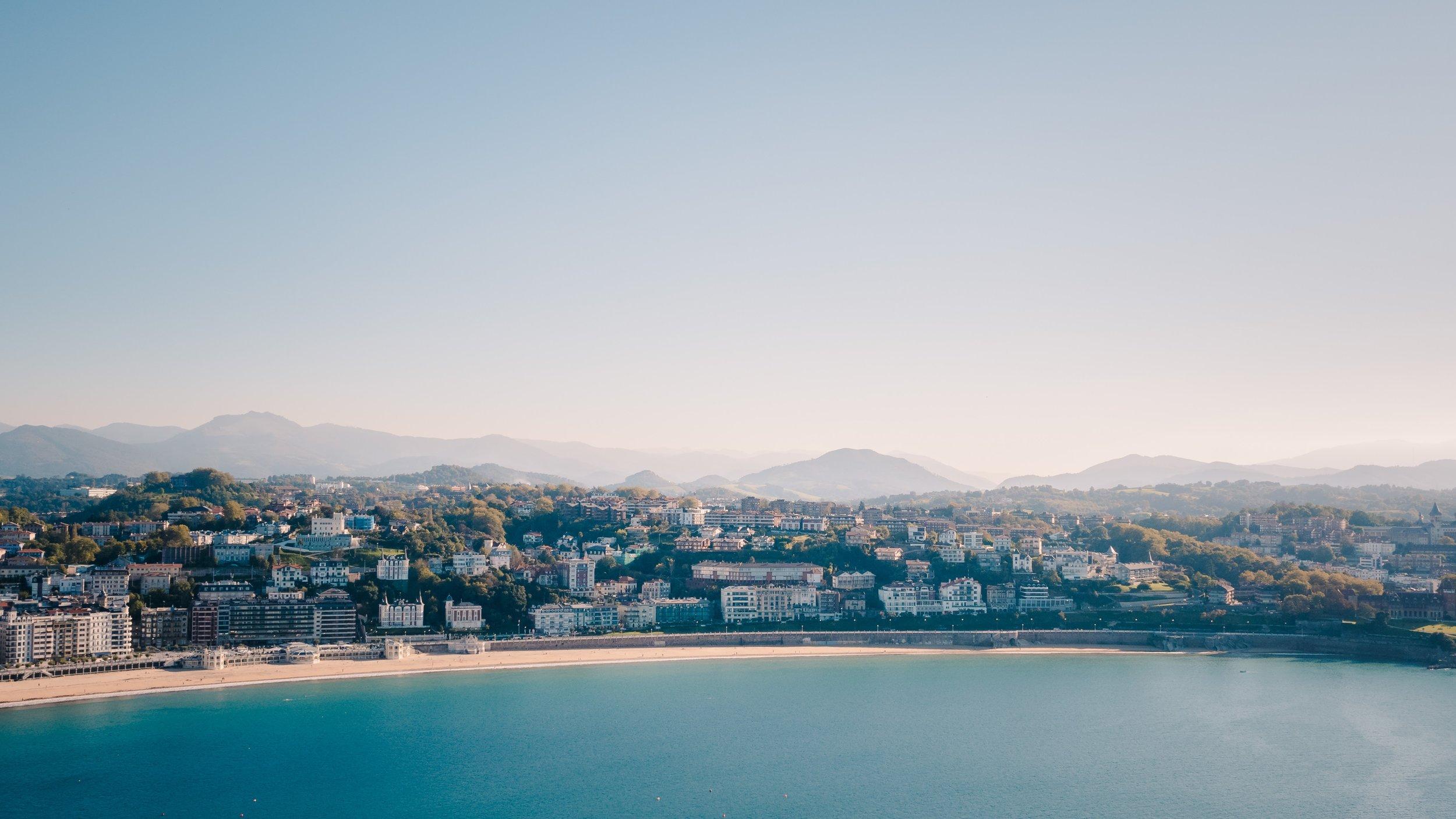 Taken from Monte Urgull in San Sebastián, Spain on October 9, 2017.