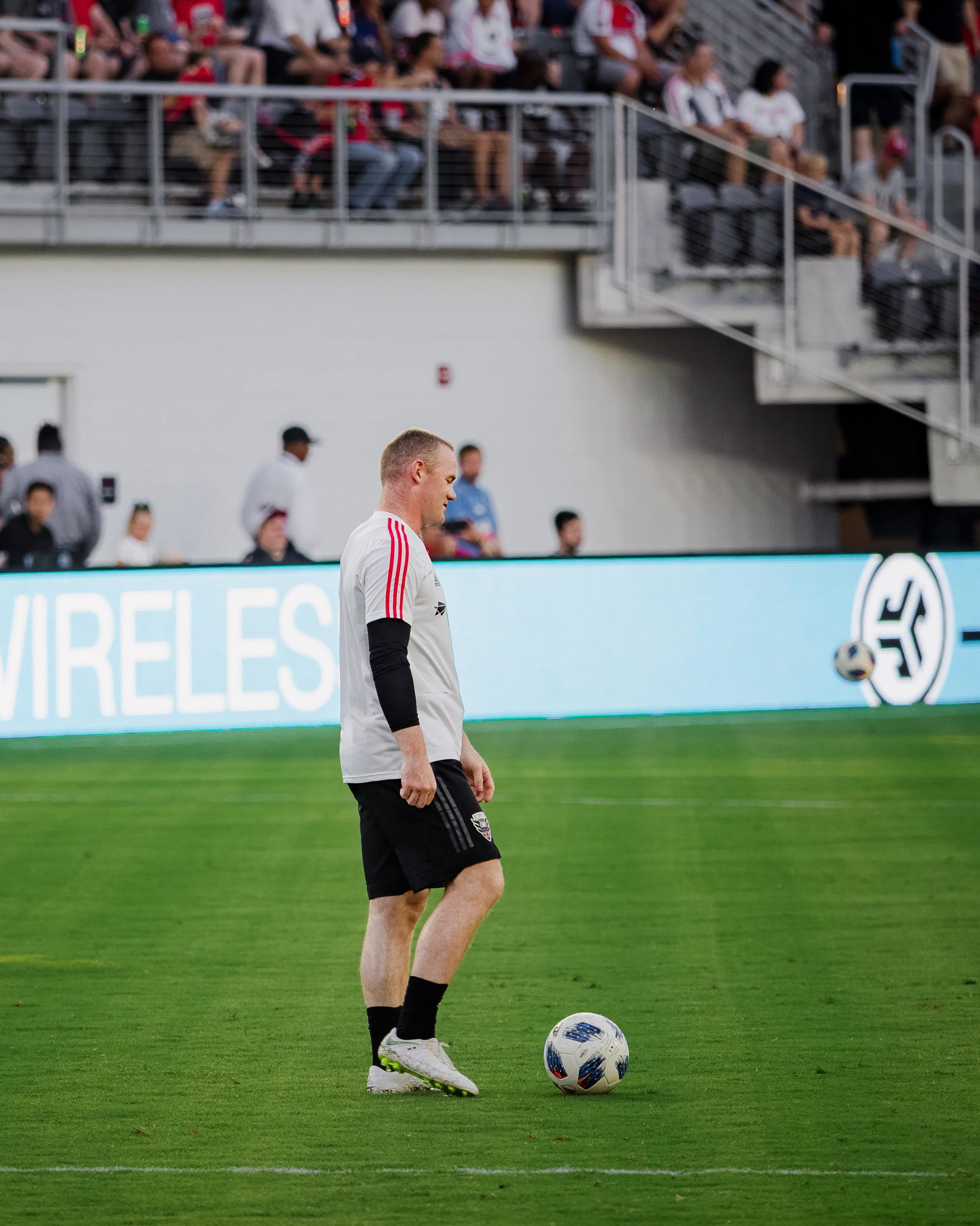 DC United's new number nine: Wayne Rooney.