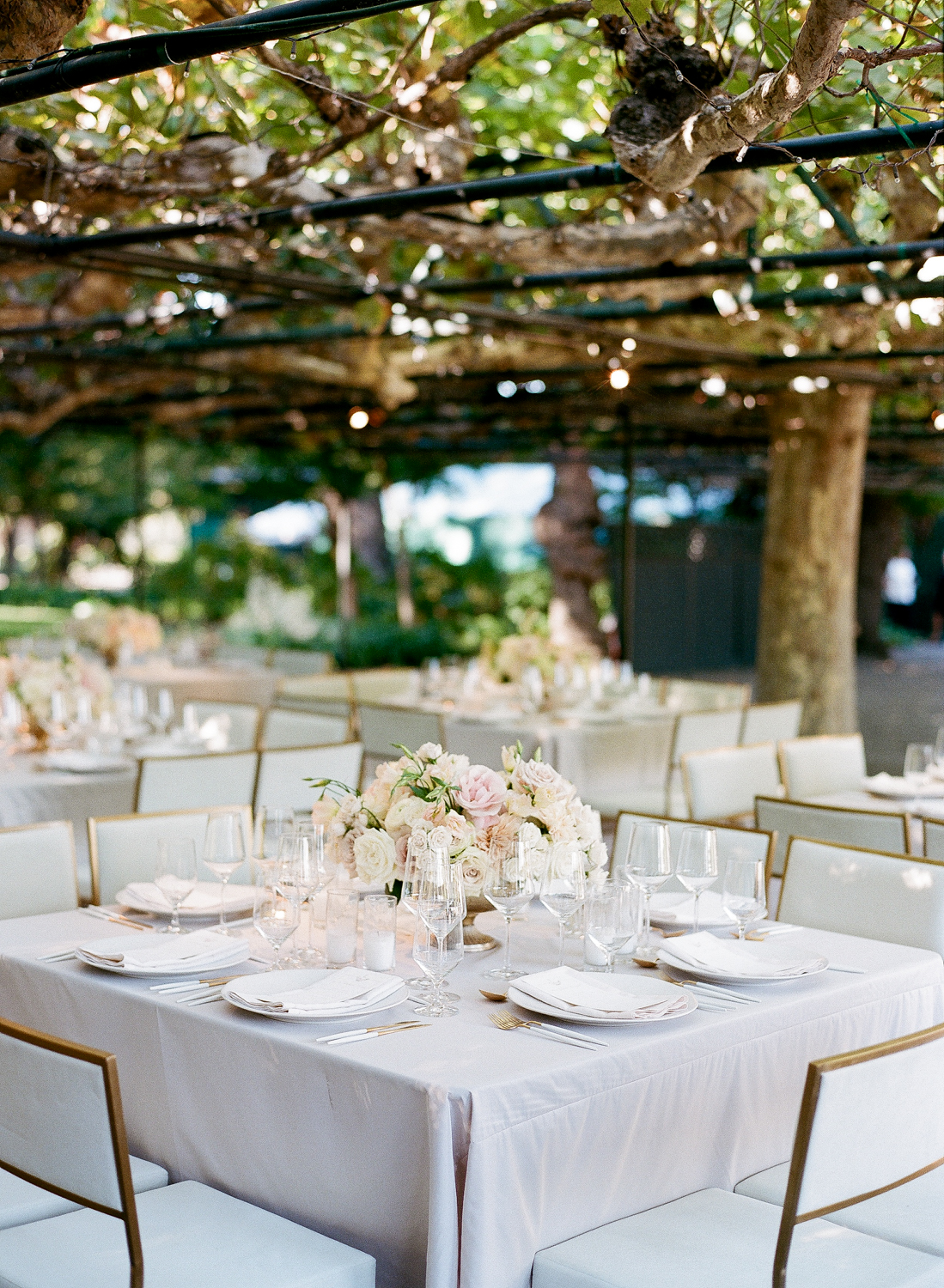 Sylvie Gil | Seating cards | table setting | Beaulieu Gardens | Bustle Events