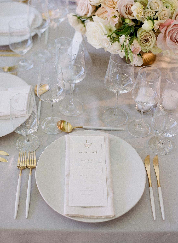 Sylvie Gil | Seating cards | Napa Wedding | Beaulieu Gardens | Bustle Events