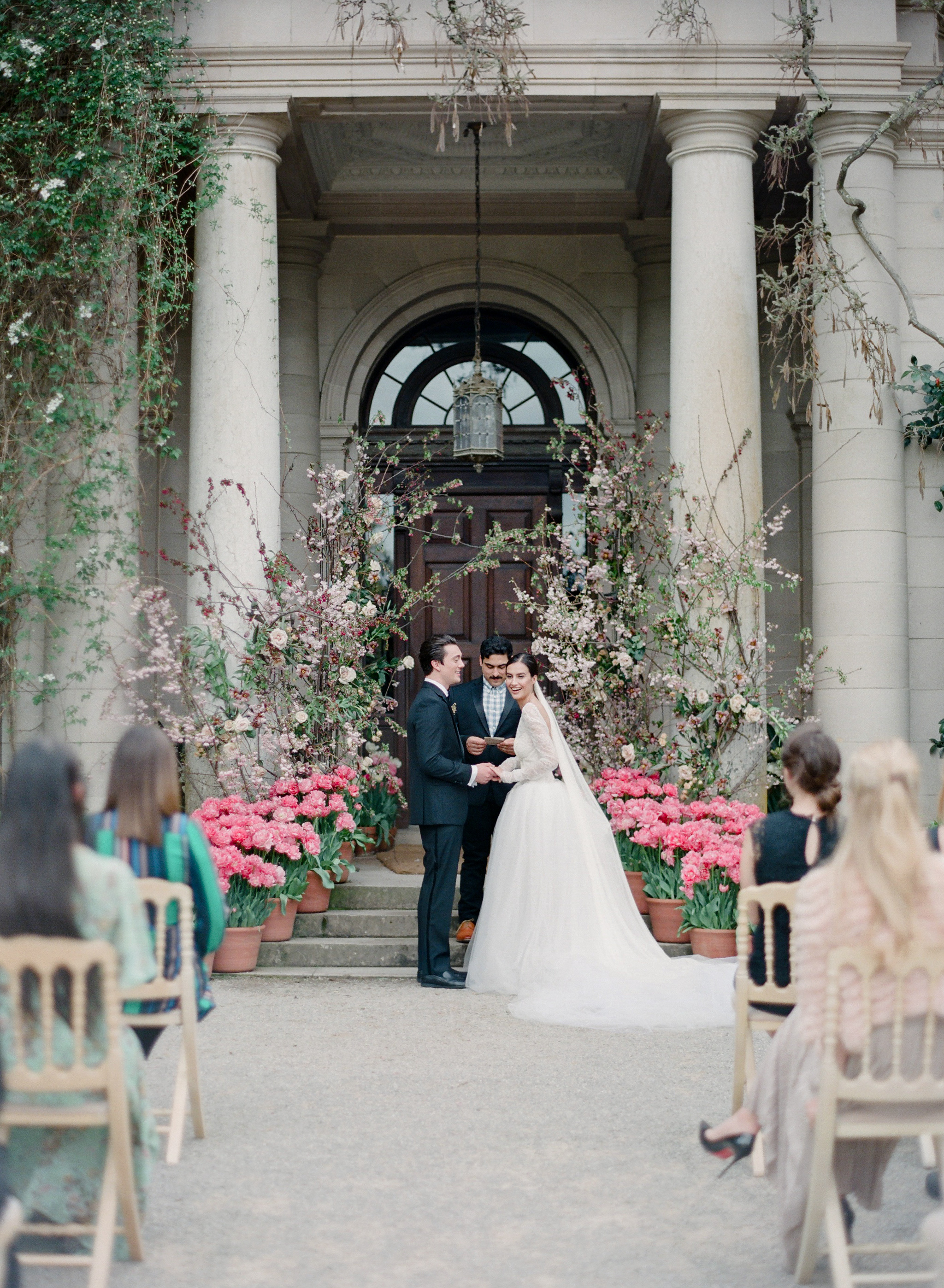 Filoli | Filoli Garden | Wedding | Amanda Crean Photography | Bustle Events | Vera Wang