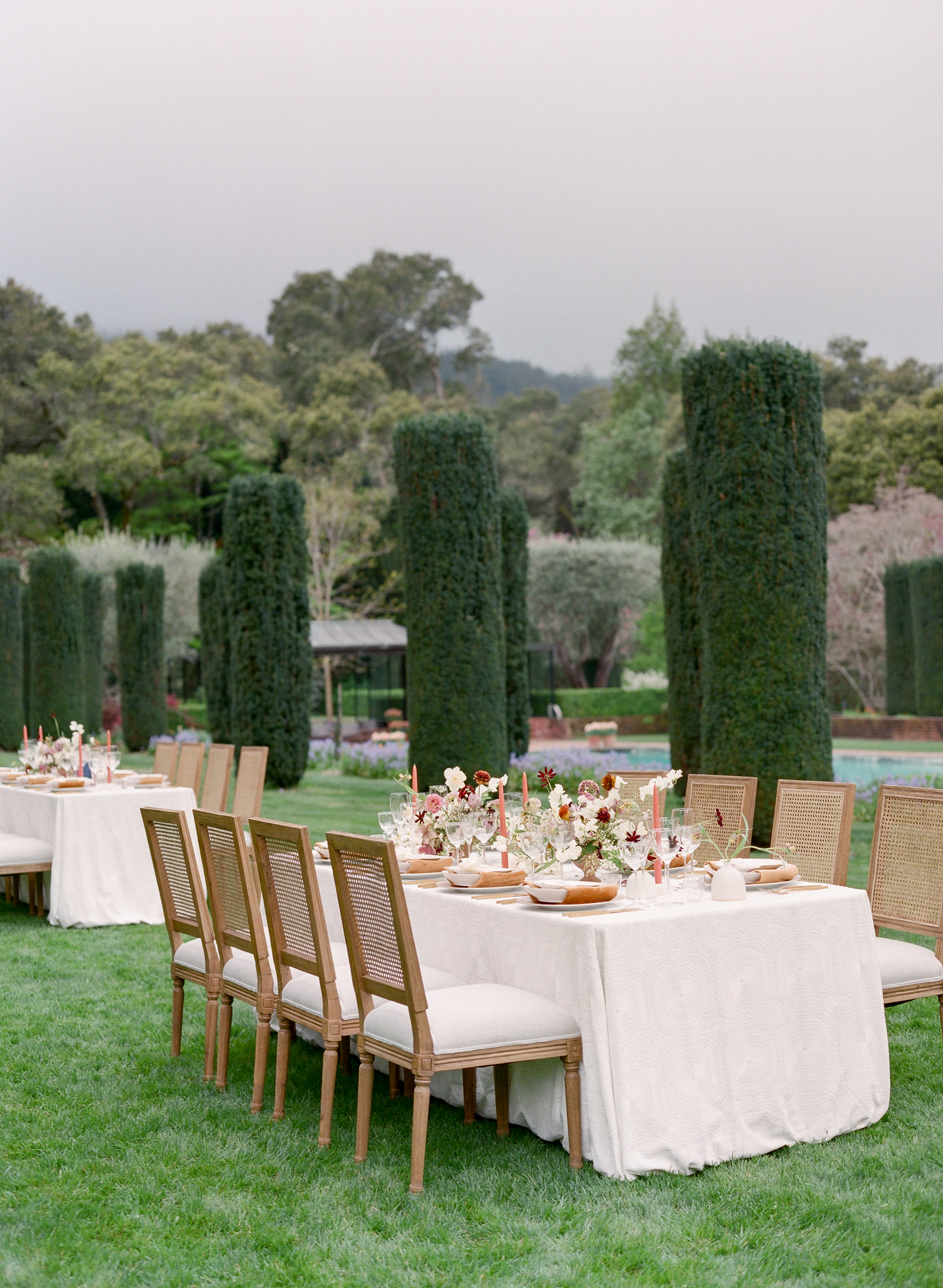 Filoli | Filoli Garden | Wedding | Amanda Crean Photography | Bustle Events | luxury wedding