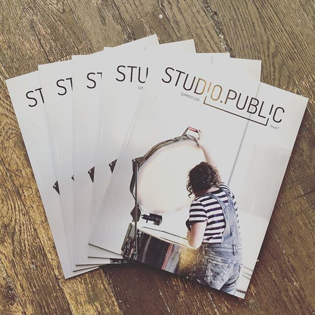 Hey! Come here! We're celebrating the launch party for one of the most important creative publications to hit the streets. Can't join us? Find them online and here @studio.public