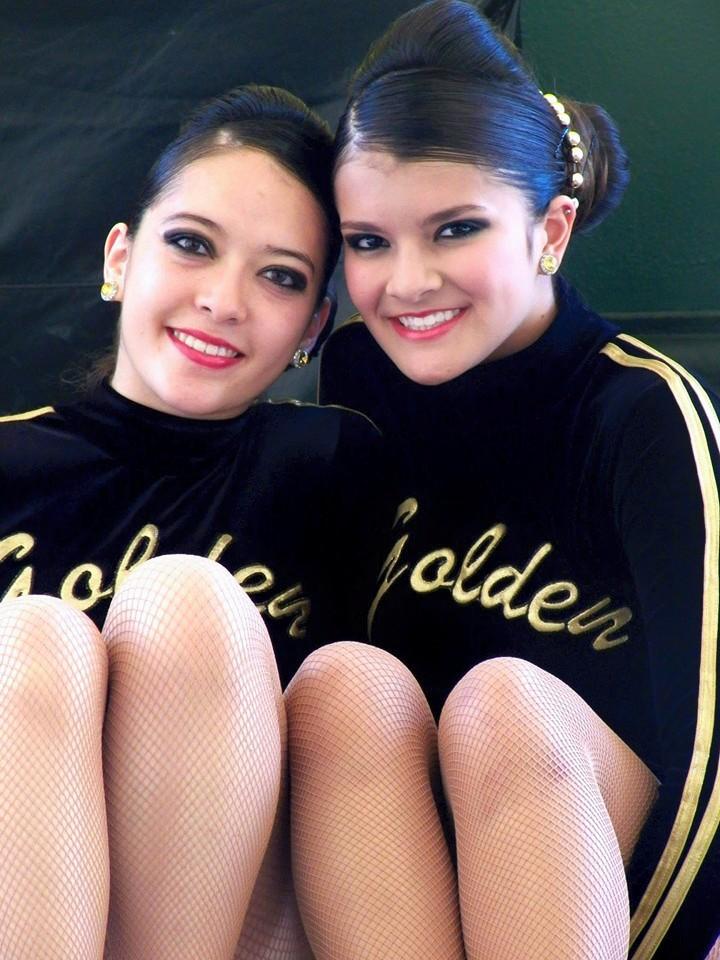Nuestro equipo Double Cheer Freestyle compuesto por Manuela Rodrígez y Lady Alejandra Moreno.
