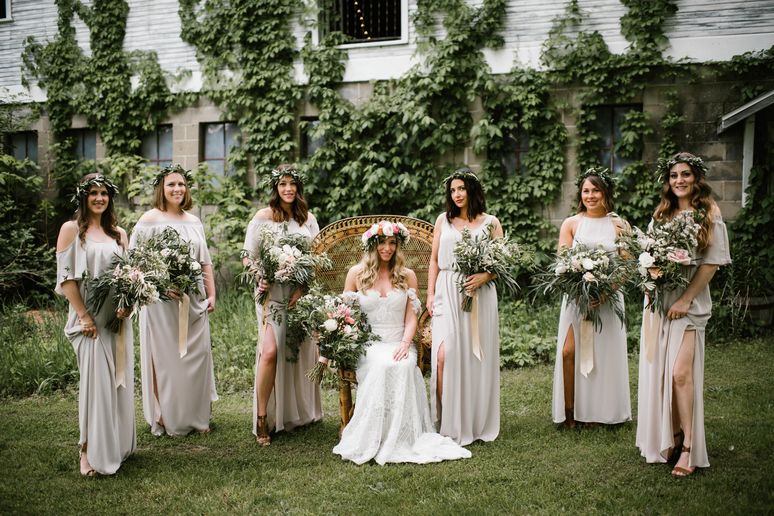 Wedding at the The Blue Dress Barn in Benton Harbor, MI