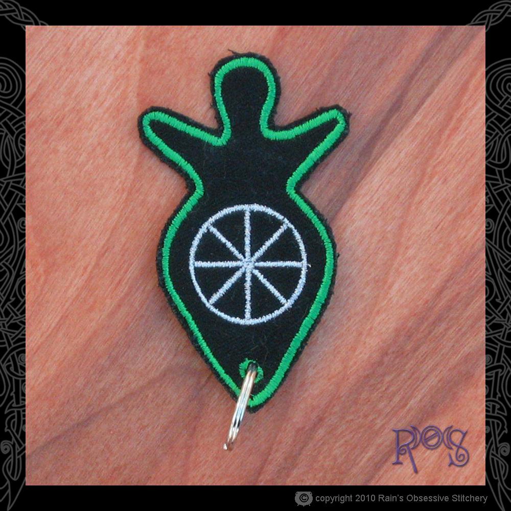keychain-goddess-green-wheel.jpg
