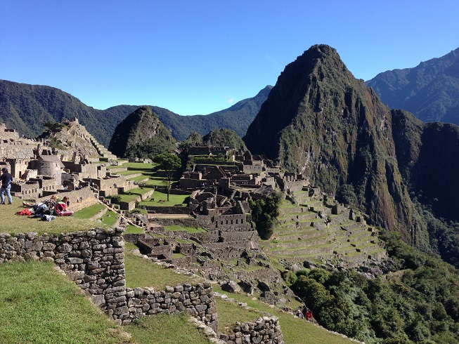 Machu Picchu - what an amazing place.  It truly is awe inspiring and a must visit if you can.  Poor Troy was really suffering this day as his digestive system was on the fritz (that's a very polite way of describing what was happening to him…)