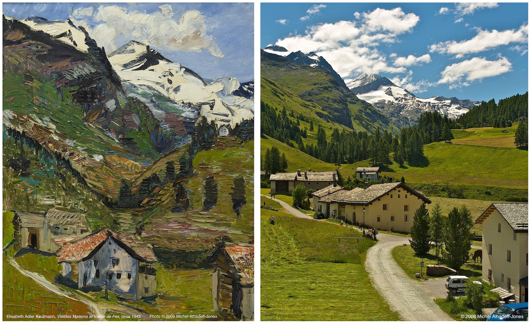 Maisons, Vallée de Fex, circa 1943 / 2008