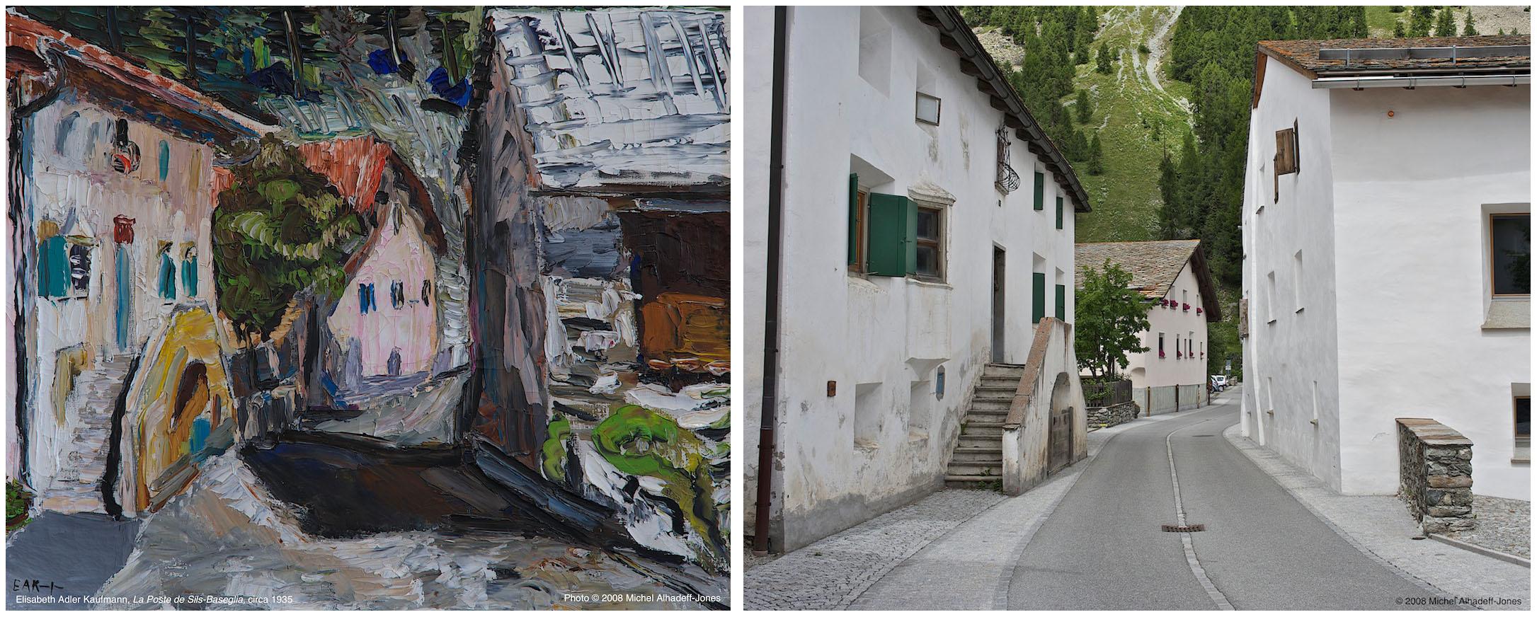La Poste, Sils-Baseglia, circa 1935 / 2008
