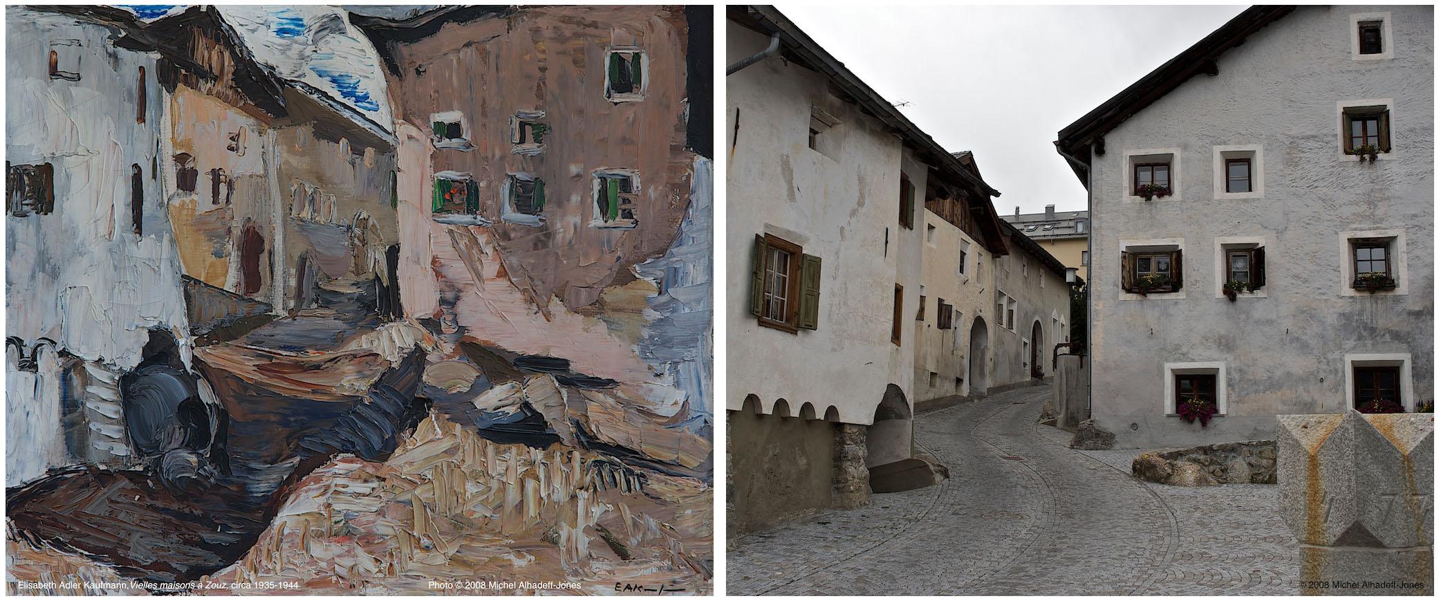 Vieilles maisons, Zouz, circa 1935-44 / 2008