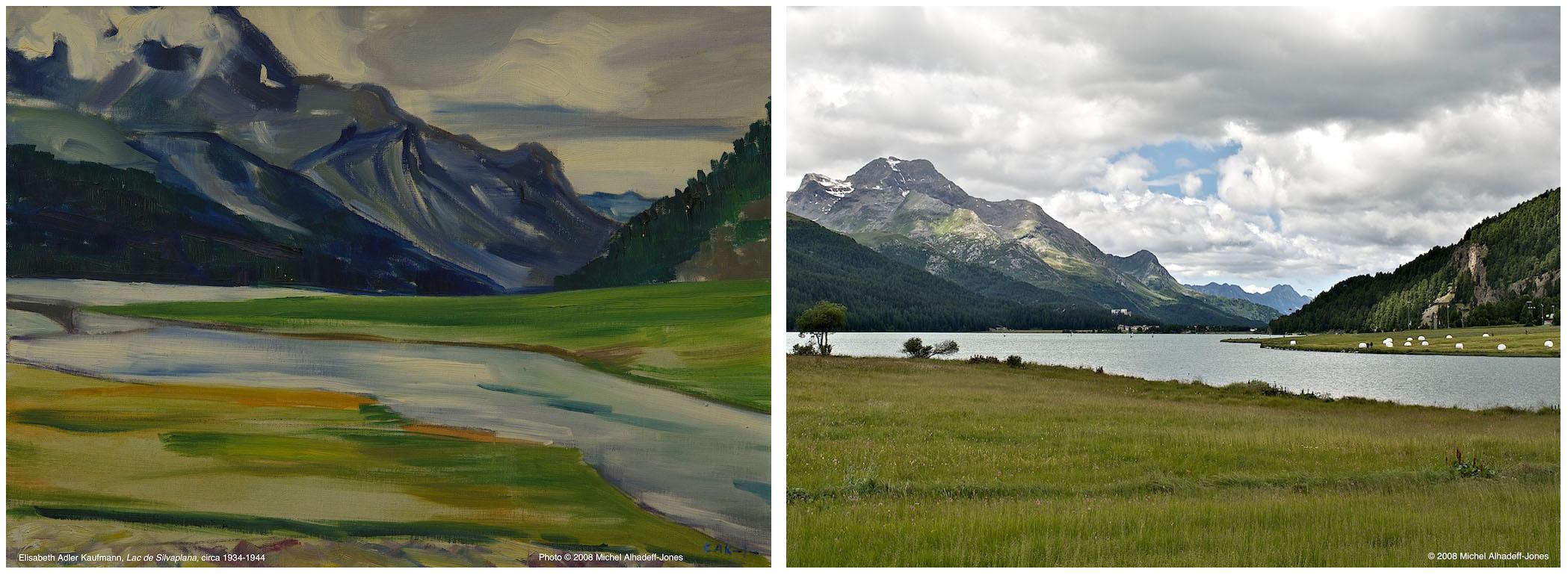 Lac de Silvaplana, circa 1934-44 / 2008