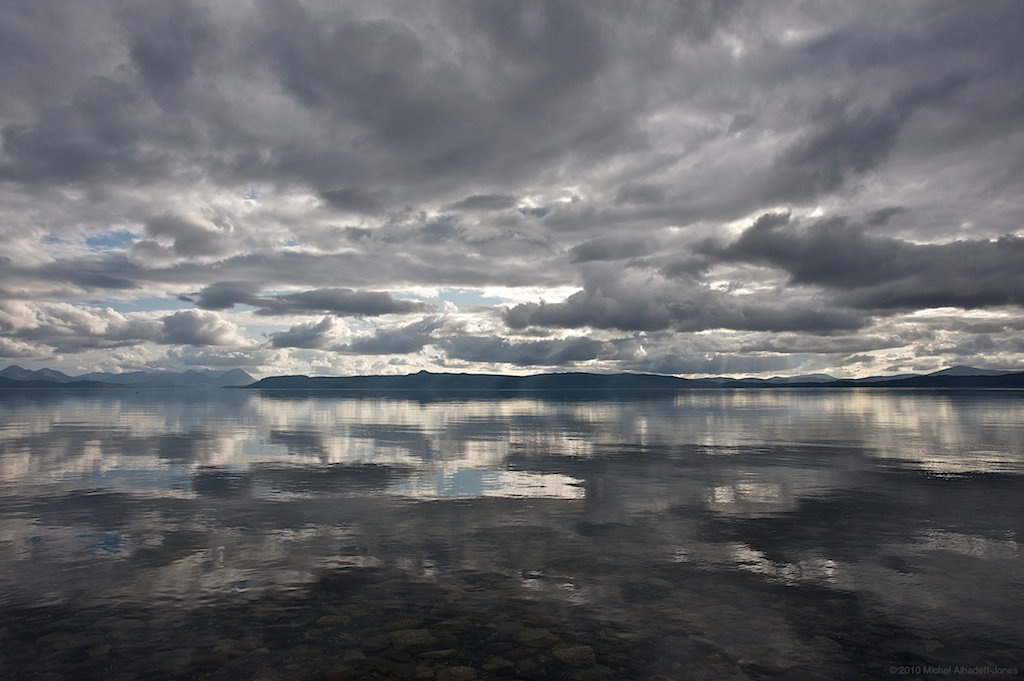Reflection , Scotland, 2010