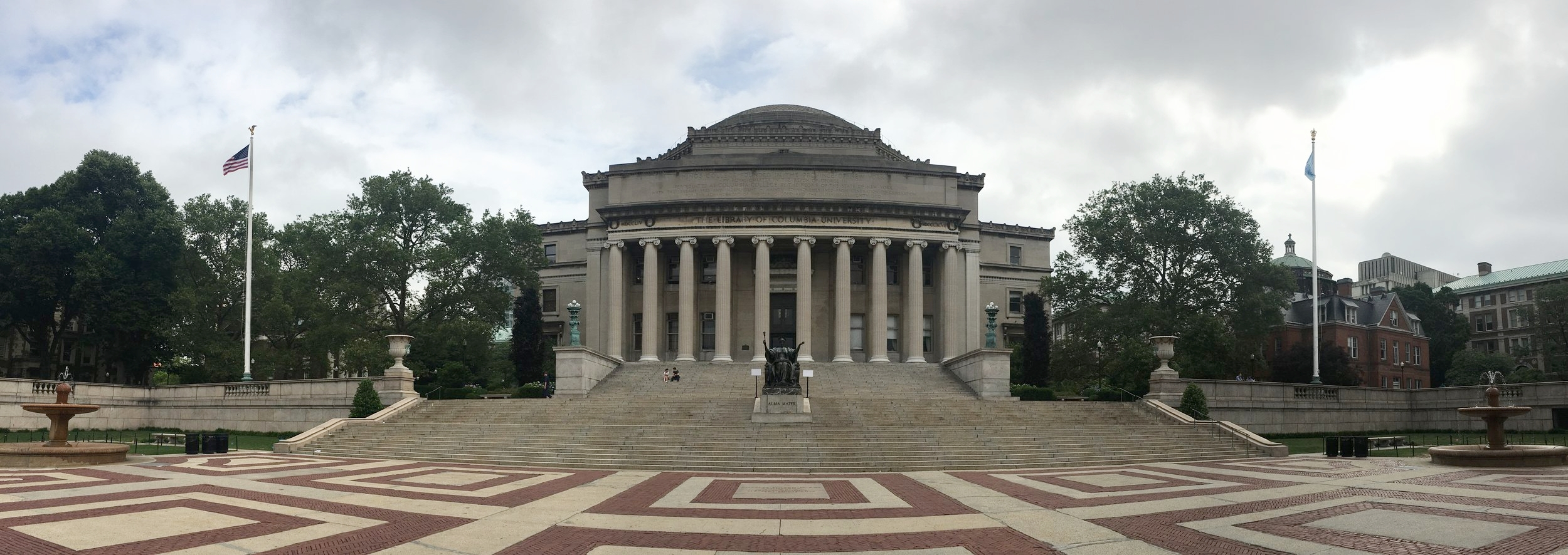 University of Columbia, Low Memorial Library (Photo: M. Alhadeff-Jones, 2017)