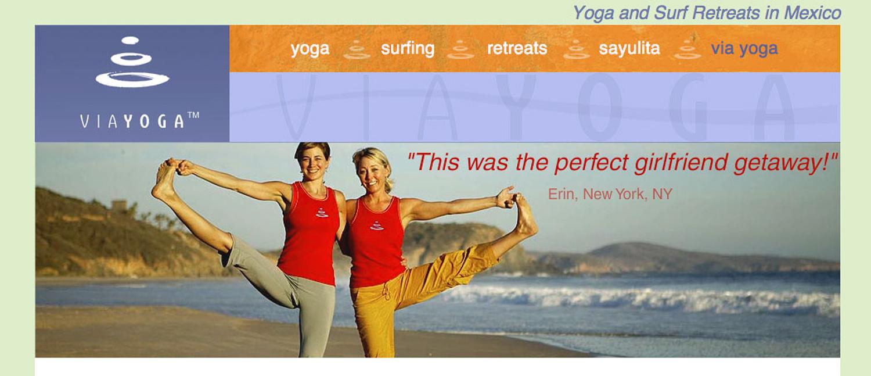 Via Yoga Campaign