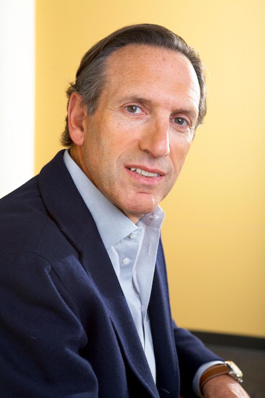 Howare Schultz-Starbucks for Billboard Magazine