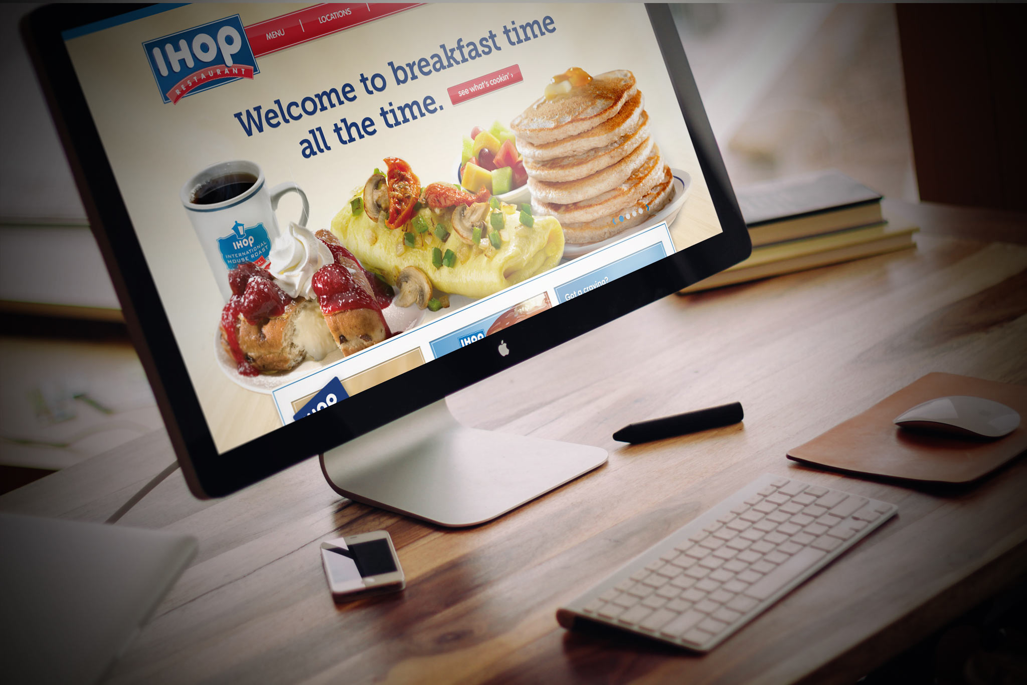 IHOP - Site Redesign