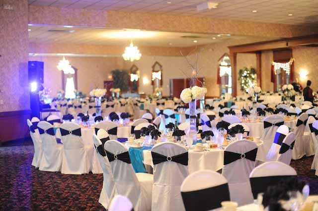 Wedding Reception Venue Tables, Niagara Falls NY