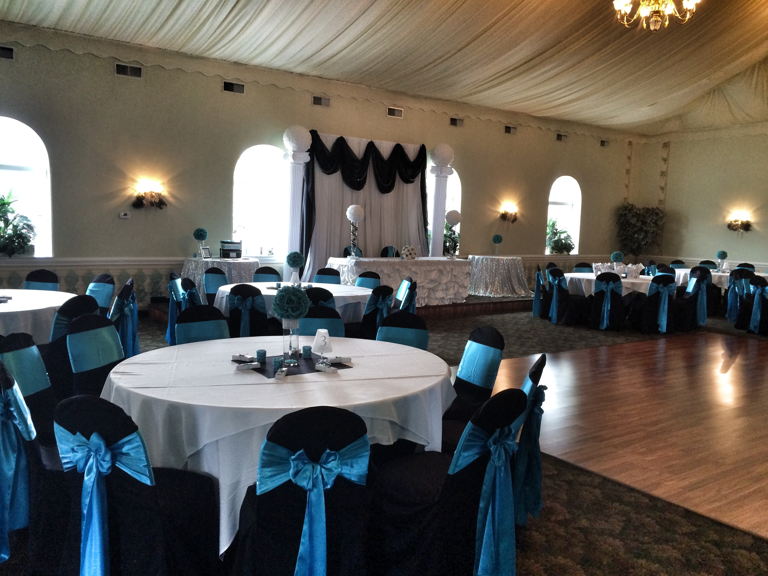Tables & Dance Floor, Wedding Venue in Buffalo NY