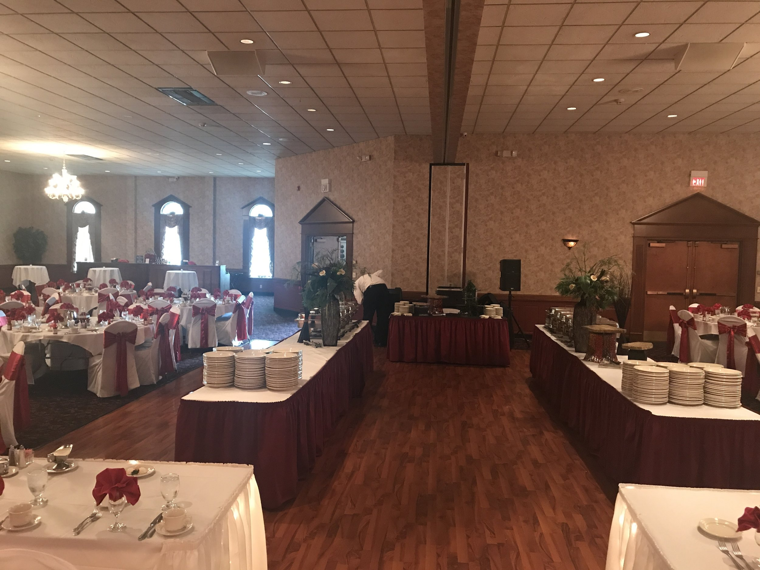 Large Wedding Setup