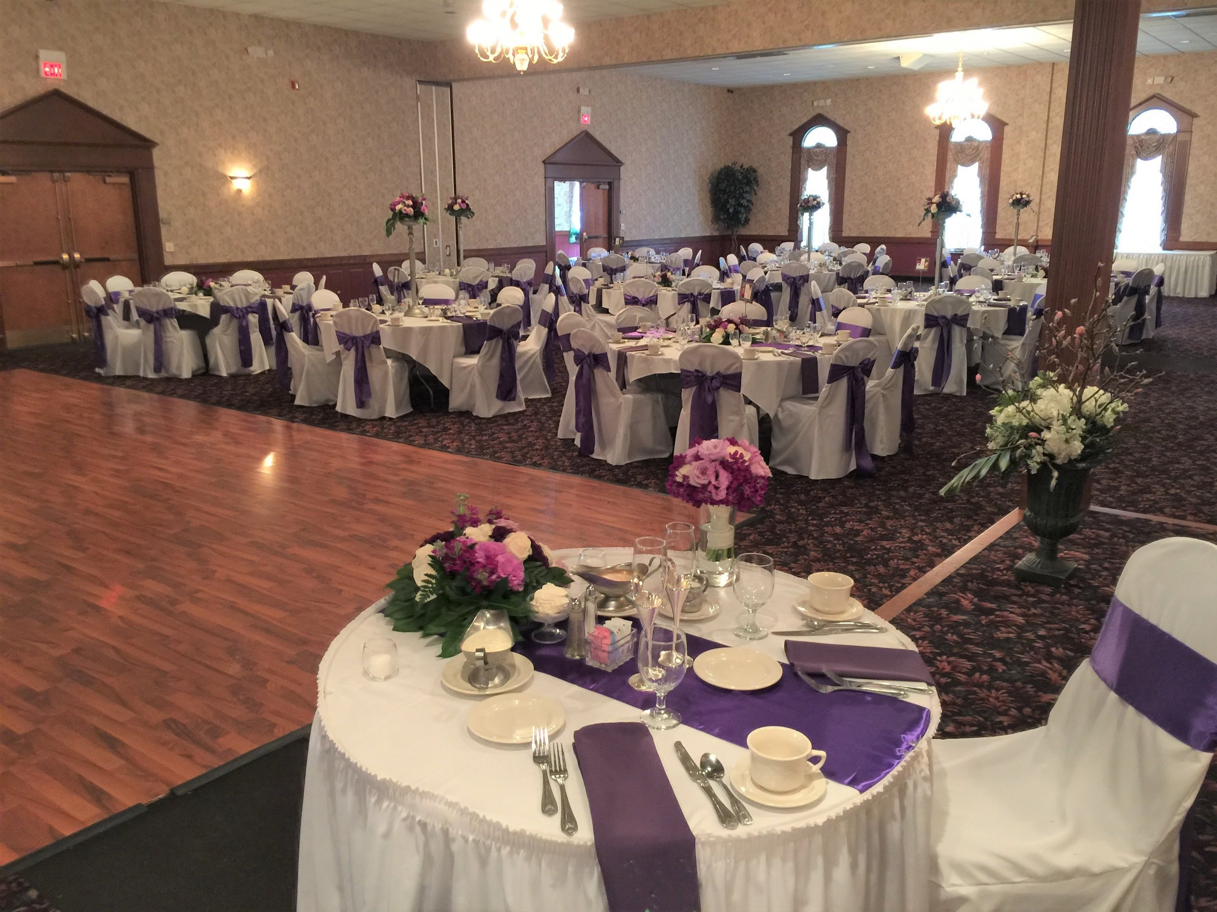 Sweetheart Table at Our Wedding Venue