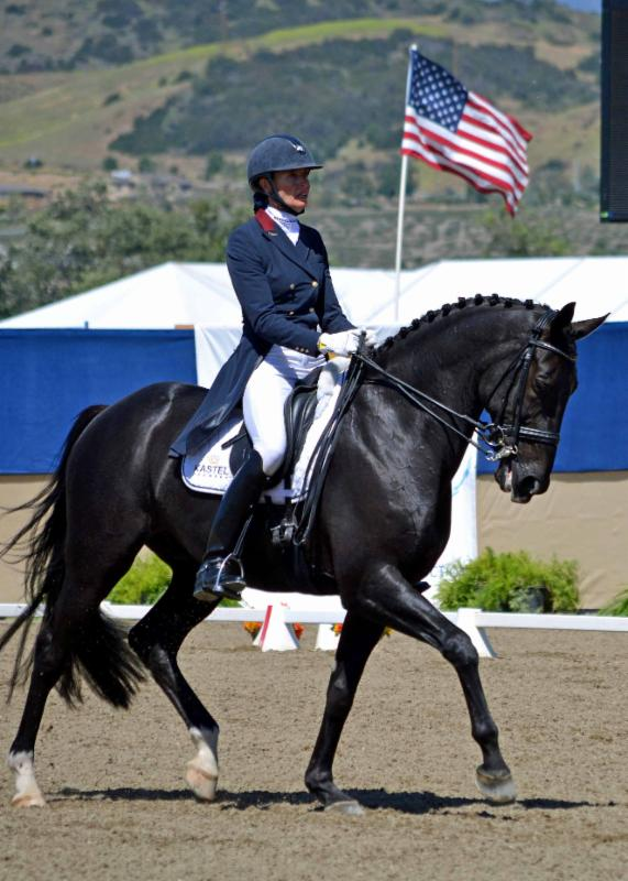 Intermediaire I winners Charlotte Jorst & Kastel's Adventure.  Photo by Jennifer M. Keeler .