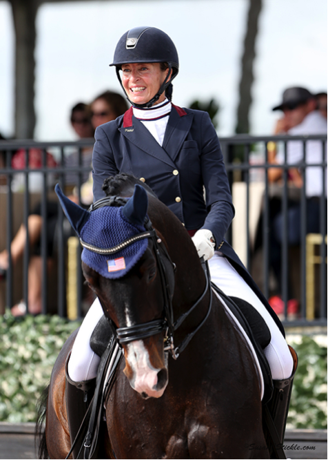Charlotte Jorst and Kastel's Nintendo finished the U.S. Dressage Festival of Champions as one of the top eight Grand Prix combinations in the country. Photo by Susan J. Stickle.