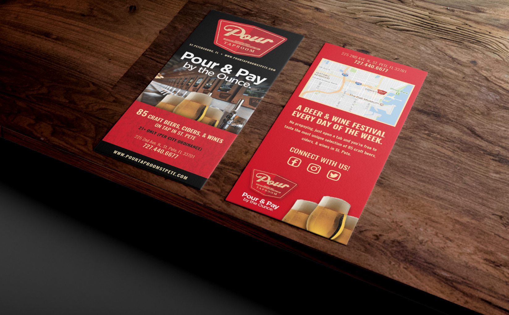 Print Design | Brochures | Flyers | Rack Cards | Banners | Mailers