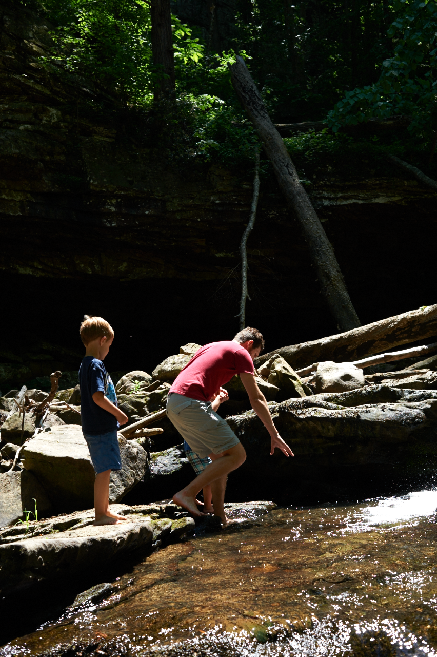 mothers day, cloudland canyon, its the everyday photography, waterfall, adventure