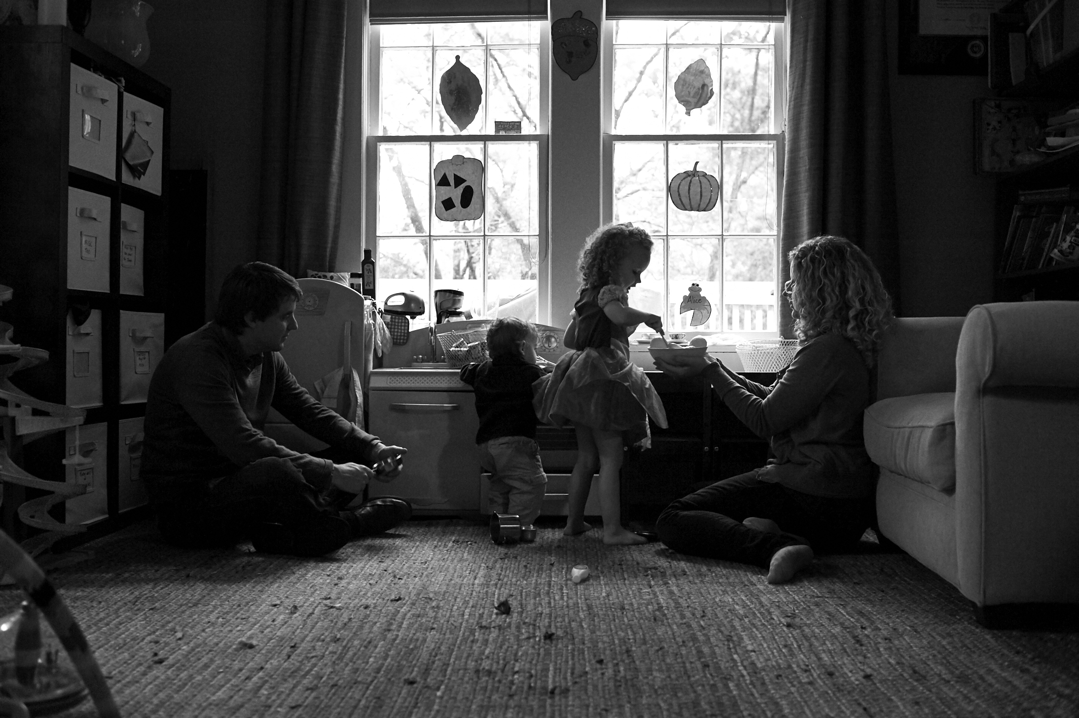 family, childhood, at home photography