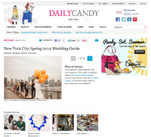 DAILY CANDY New York City Spring 2012 Wedding Guide