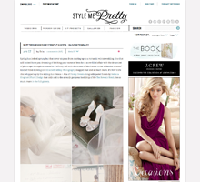 STYLE ME PRETTY New York Wedding by Firefly Events + Elisa Millay