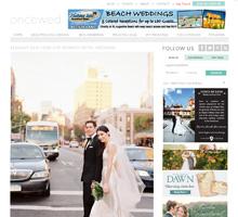 ONCE WED   Elegant New York City Wedding