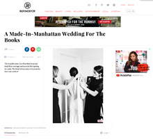 REFINERY 29 NYC Manhattan Wedding