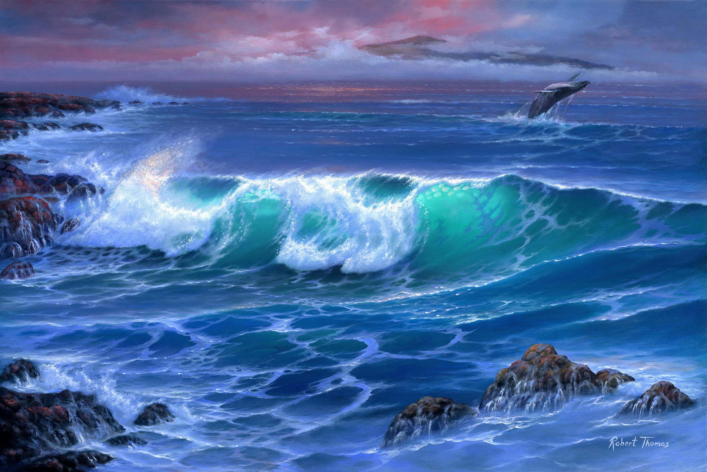 """""""Maui Wave"""" 24x36"""
