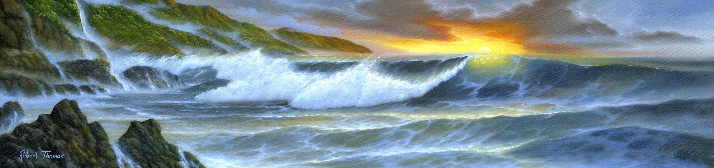 """Ocean Breaker"" 12x48"