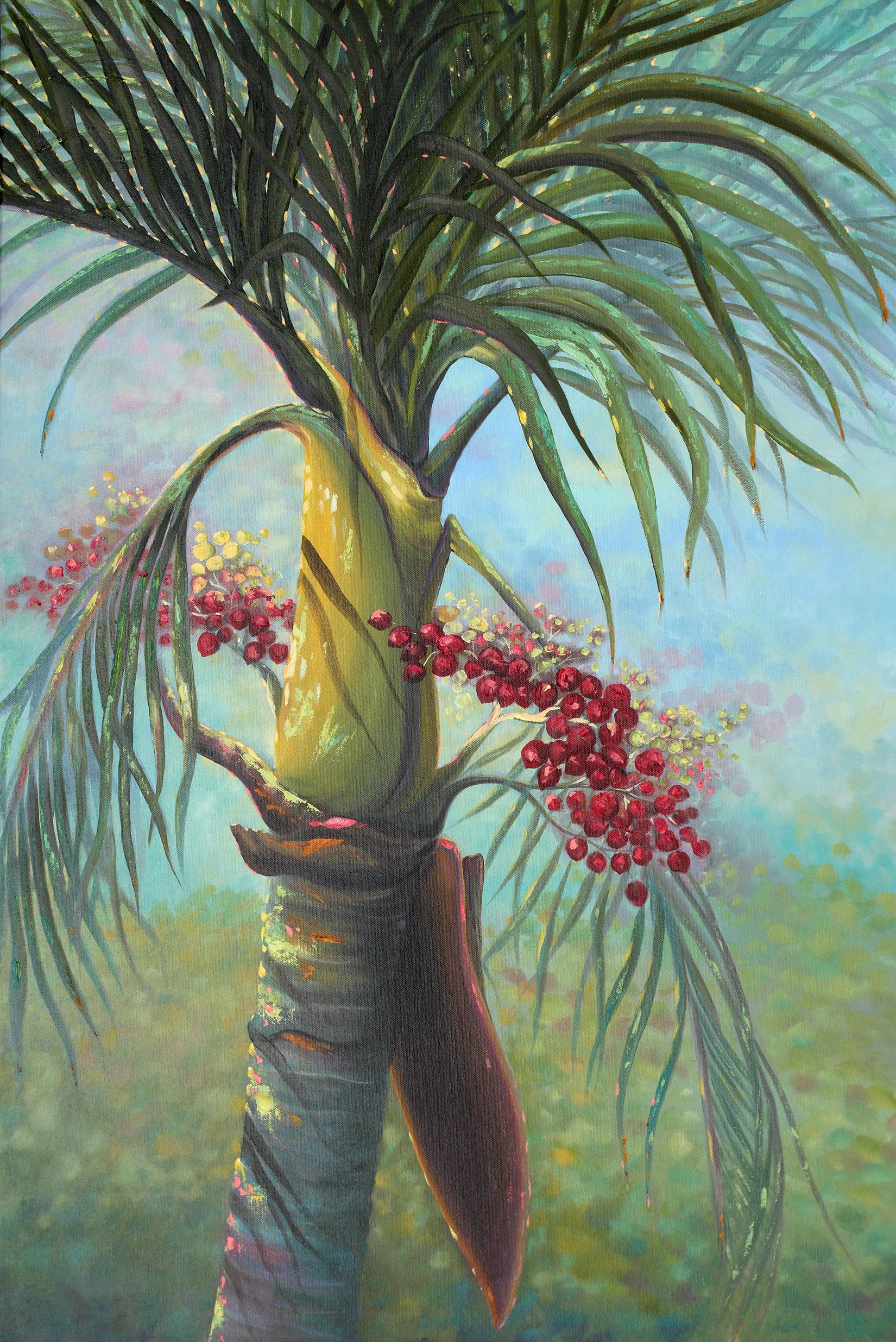 """""""Manila Palm II"""" 24x36"""