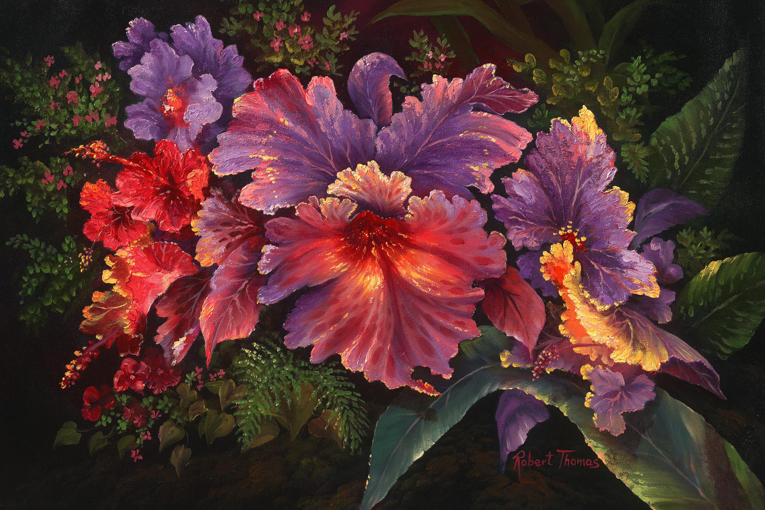 """""""Cattleya Orchid"""" 16x24"""