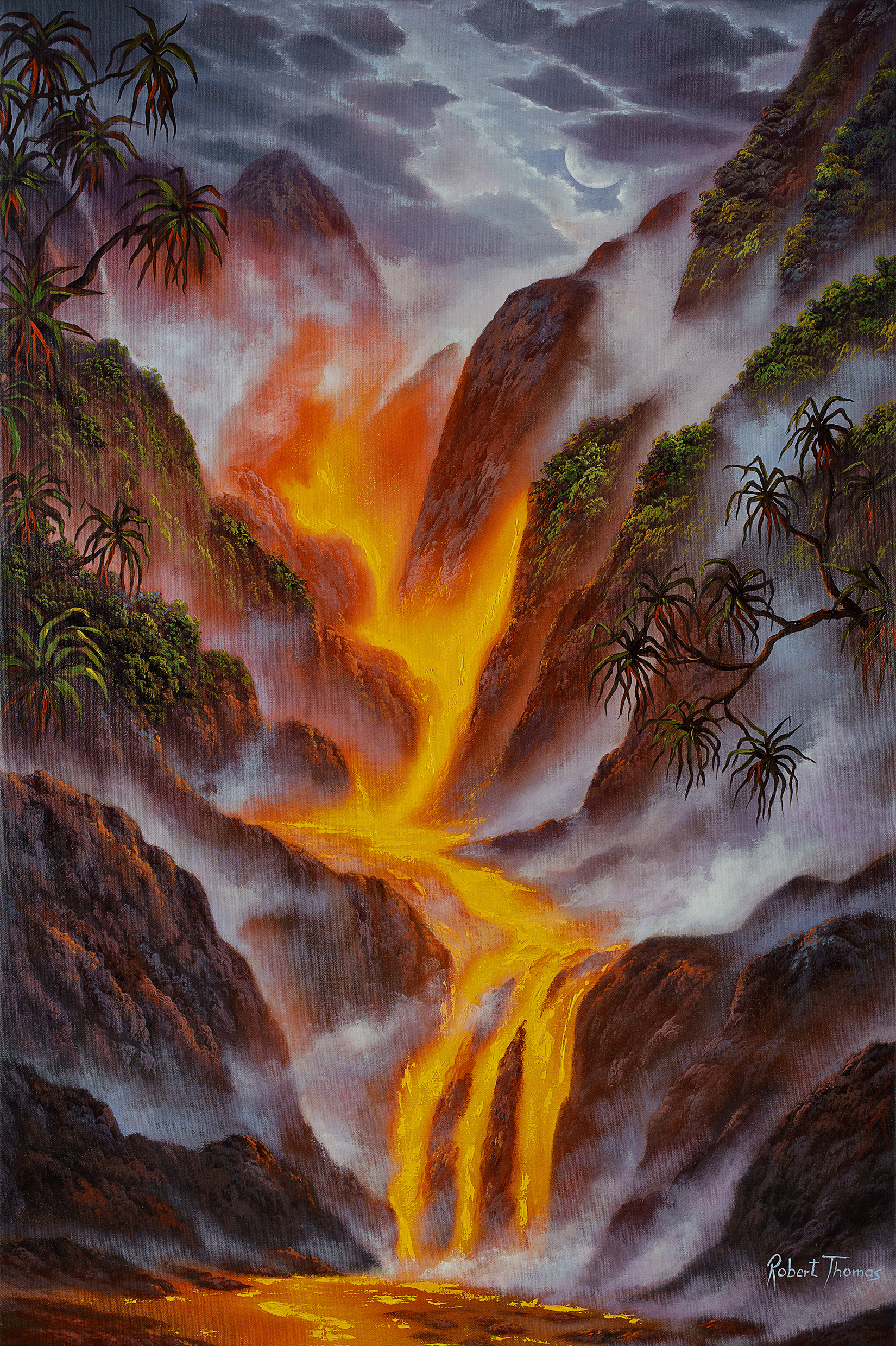 """Lava Valley"" 20x30"