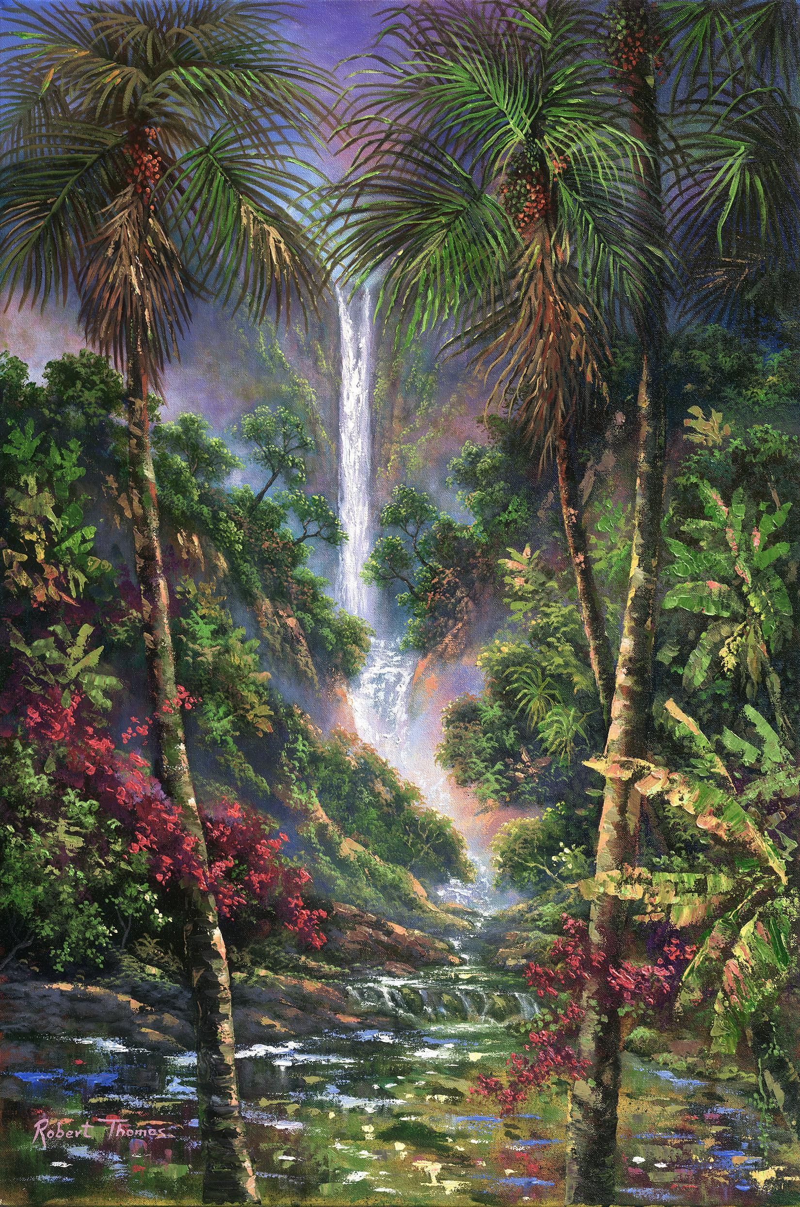 """""""Jungle Falls"""" 20x30"""